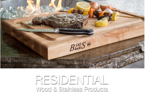 Residential Wood & Stainless Products